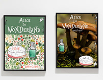 Book Cover Project - Alice in Wonderland
