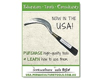 Ad Design: Permaculture Tools USA