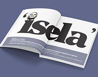 Editorial typography - Zuma is a thief