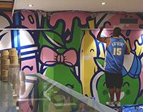 Juice Cafe Mural
