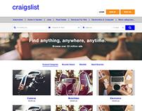 Craiglist Redesign Work