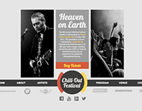 Music Festival Website Redesign