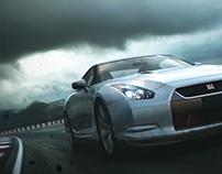 Nissan GTR+Crepúsculo