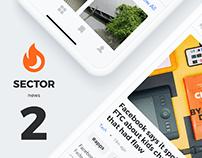 Sector UI Kit. News