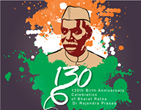 130th celebration of Dr Rajendra Prasad