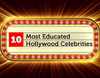 Infographics: 10 Most Educated Hollywood Celebrities