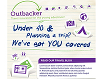EMS designs for under 40's travel insurance providers