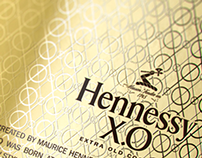 Hennessy XO Limited Edition /// 3D Luxury packaging