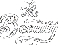 The Beauty of Type – Lettering
