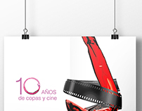 Cartel preseleccionado Cine y Vino Solana 2014