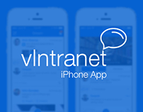 vIntranet -An Enterprise Social Network iPhone App