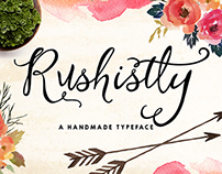Rushistly Script Typeface