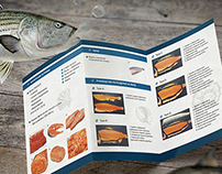 Fish and seafood trading company catalog