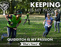 Quidditch is my Passion Campaign