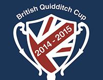 British Quidditch Cup Logo