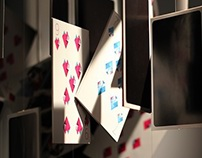 Playing cards. Installation