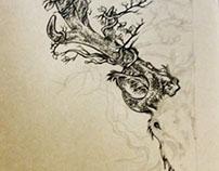 Devyniaragis (Tattoo)