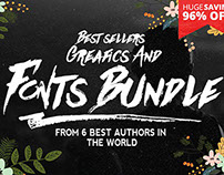 Best sellers Fonts And Graphics
