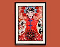 FineArt/// Chinese Red
