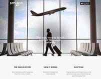 Smigin - Single-page website