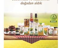 Etna Food Print Ads