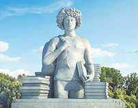 Student Statue