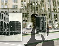 Detroit based Interactive Street Installation Design