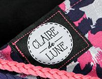 Claire de Lune - Cache cou fait main