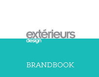 Extérieurs Design magazine brandbook