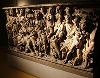 """Il Sarcofago di St. Irene detto """"il trionfo di Bacco"""""""
