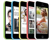 Vogue Magazine - iPhone edition