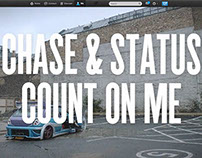 "Chase & Status - ""Count On Me"" Twitter Takeover"