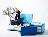 Open your book: transformer furniture