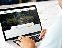 """""""Baku Taxi"""" web site"""