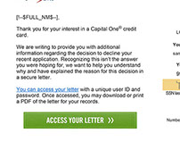 Capital One Emails