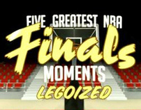 5 Greatest NBA Moments Legoized