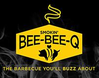 Smokin' Bee-Bee-Q Branding