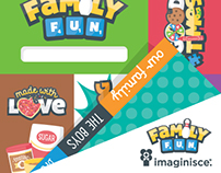 Family Fun Patterned Paper