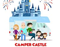 Camper Castle Graphic