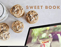 Sweet Book - website layout design