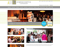 A Special Event DJ Site Design