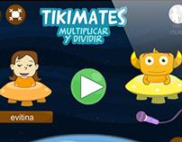TIKIMATES App design