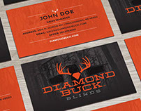 Diamond Buck Print & Web Design