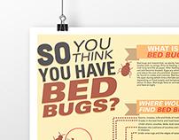 Bedbugs Educational Poster