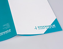 Stockholm Academy of Arts Brochure