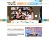 Web Design for Celebrity Tanning