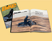 Bike Magazine Redesign