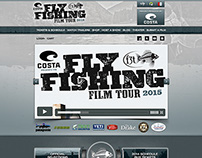 Site Design for Fly Fishing Film Tour