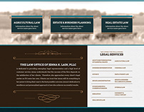 Site Design for Jenna K. Lain