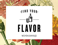 Find your Flavor; Women & Whiskies program